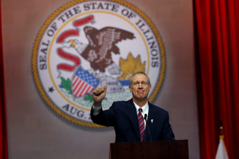 Rauner says little on higher ed in budget address