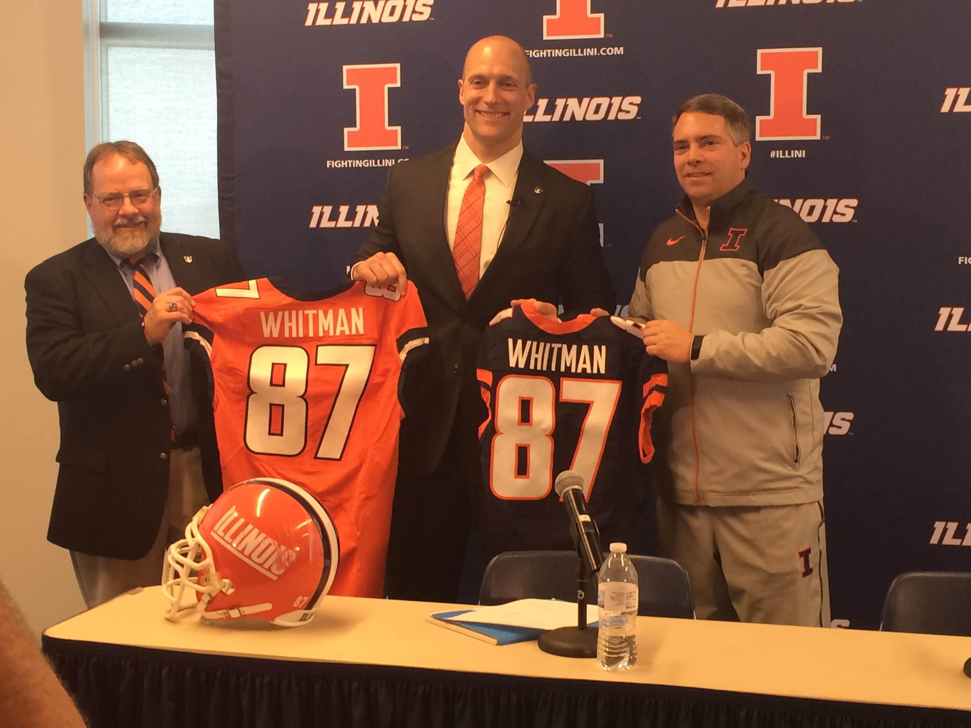 Josh+Whitman+is+going+to+need+time+and+patiences+from+Illinois+fans+in+his+time+as+Illinois%27+athletic+director.