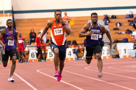 Illinois men's track caps off season at Orange and Blue Open