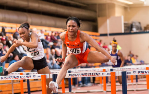 Illini women's track and field wins four events at Orange and Blue Open