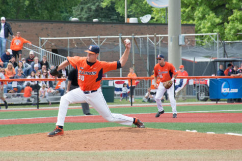 Nielsen and Blackburn set in the back end of Illinois baseball's bullpen