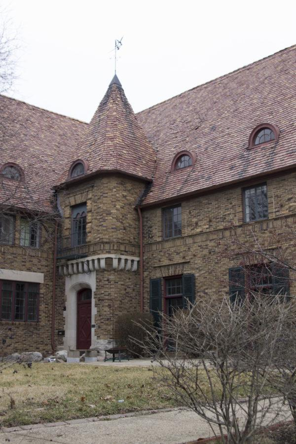 The Alpha Rho Chi House, a co-ed Professional Fraternity modeled after the Red House in Bexleyheath, England.