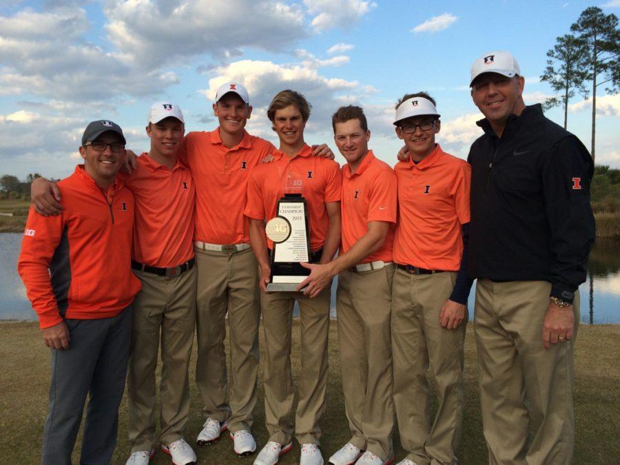 Las Vegas air is a factor for Illinois men's golf