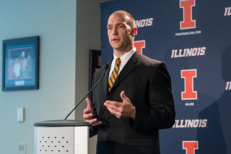 Illinois' Josh Whitman sets foundation for football program