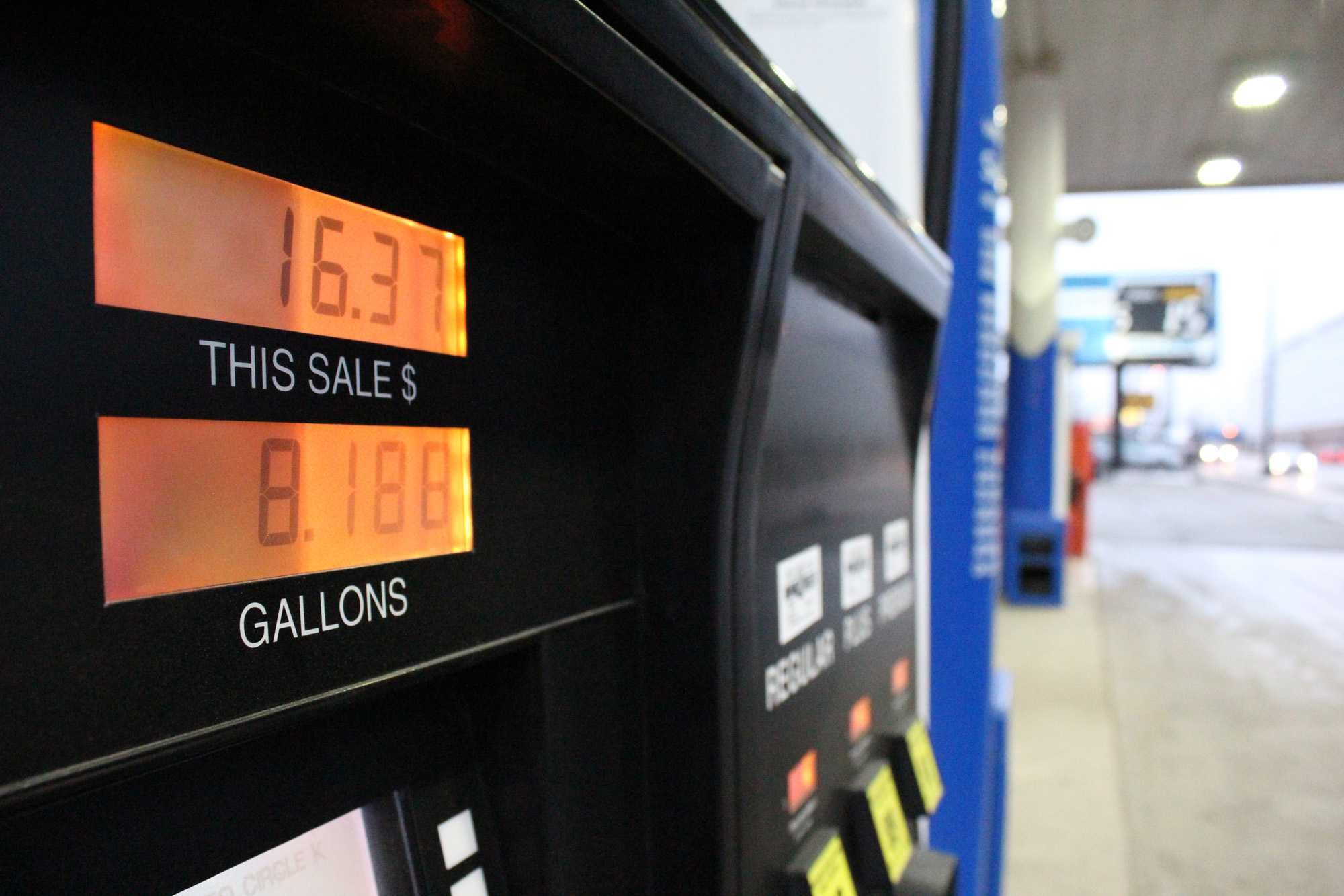 Gas prices across the nation have hit recent lows as a result of the fall of crude oil. The drop in gas prices is leading consumers across the U.S. and in Champaign-Urbana to spend more on other goods.