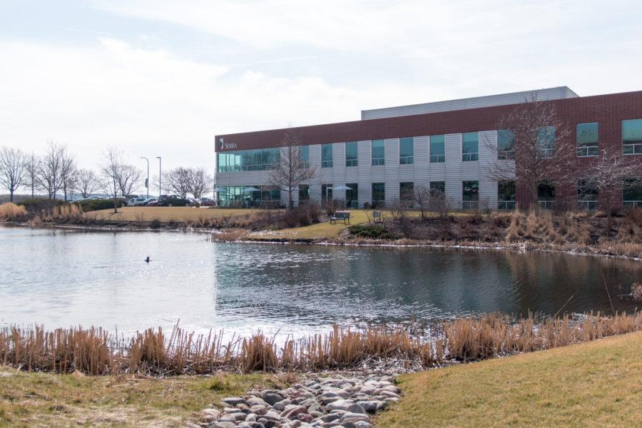 The Sierra building at Research Park.