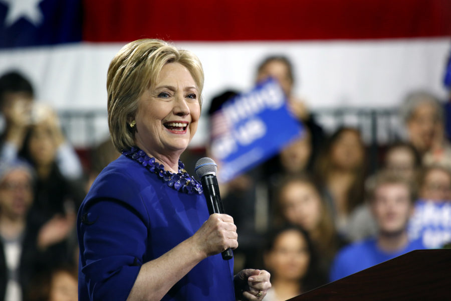Democratic+primary+presidential+candidate+Hillary+Clinton+holds+a+rally+at+the+Javis+Center+convention+hall+in+New+York+on+Wednesday%2C+March+2%2C+2016.+%28Carolyn+Cole%2FLos+Angeles+Times%2FTNS%29