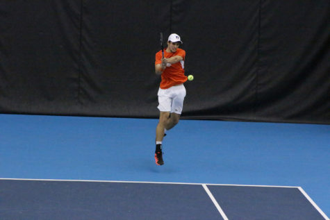 Illinois men's tennis unable to snatch victory from Northwestern