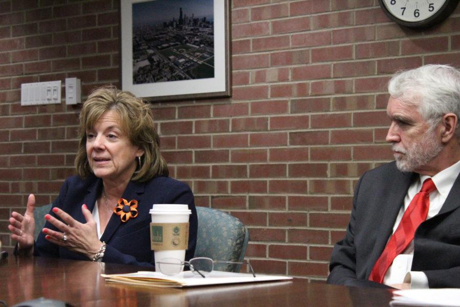 President Timothy Killeen presents plan for University system