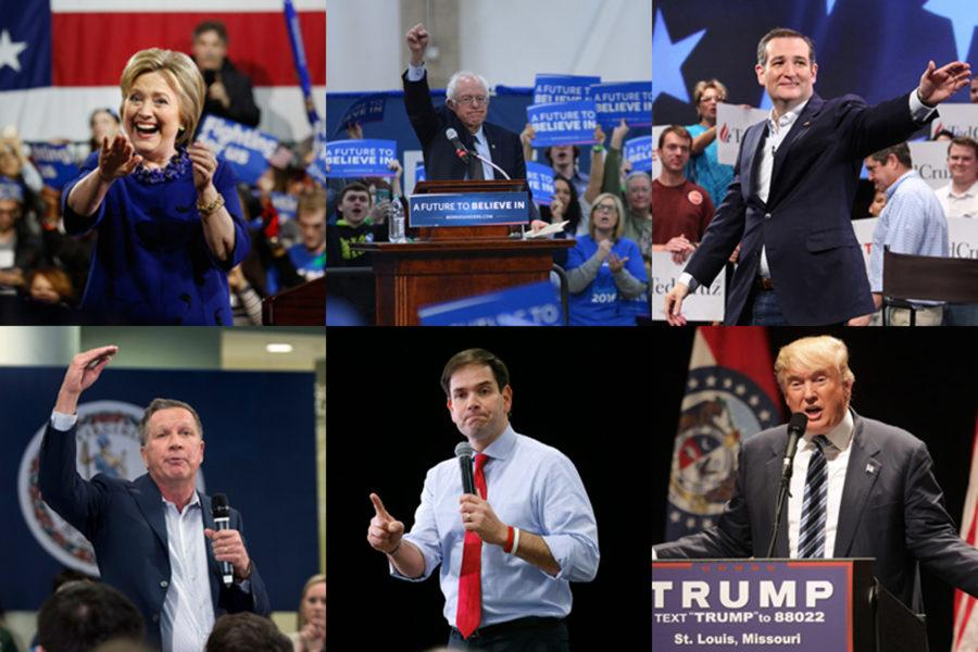 Where the six presidential candidates stand on six key issues