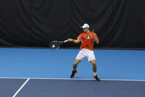 Illinois men's tennis ready for rematch against Baylor