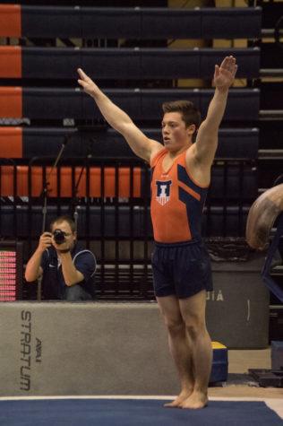 Illinois men's gymnastics finish runner-up to Ohio State