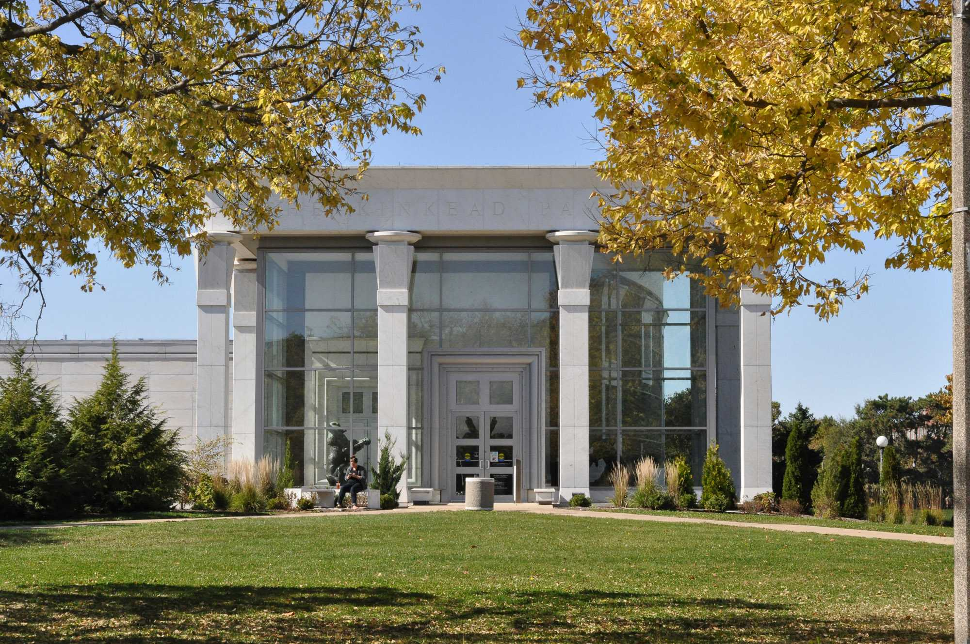 The Kinkead Pavilion at the Krannert Art Museum on October 14, 2015. The museum is currently looking for a Director.