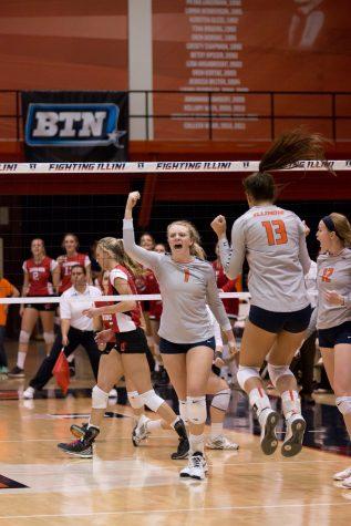 Illinois volleyball begins season with Illini Classic