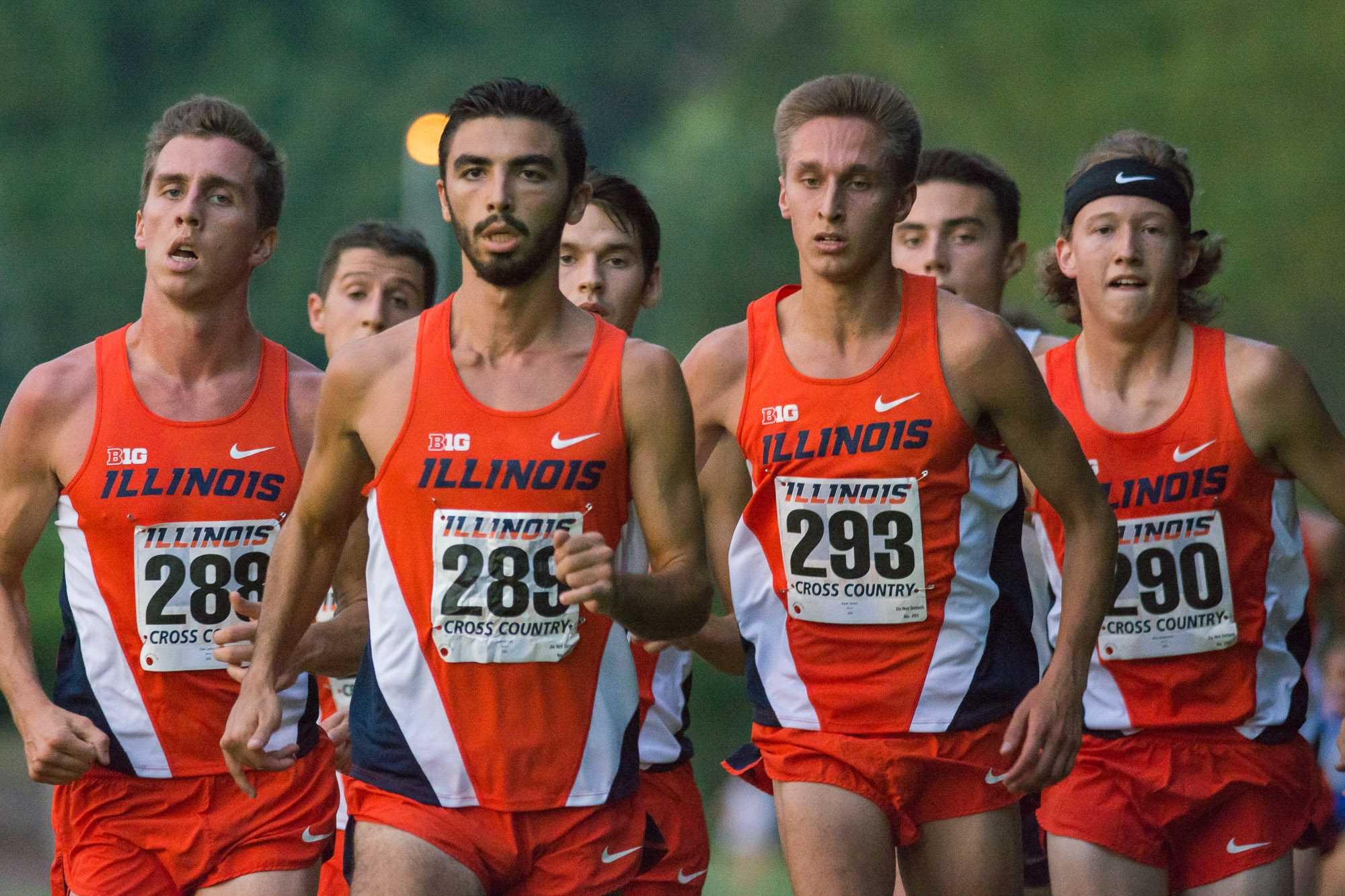 The men keeping it together at the Illini Challenge 2015 at the Arboretum on September 4.