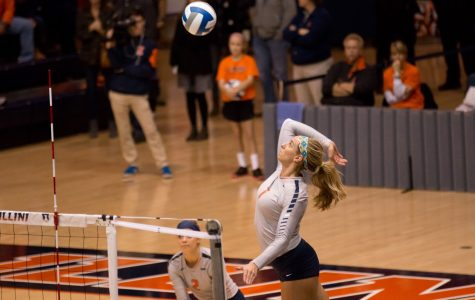 Illinois volleyball looks to rebound from mediocre 2015 season