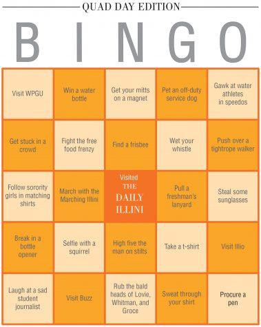 The Daily Illini Bingo: Quad Day Edition