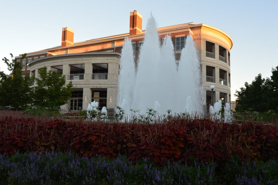 The exterior of the Alice Campbell Alumni Center on Sept. 3.