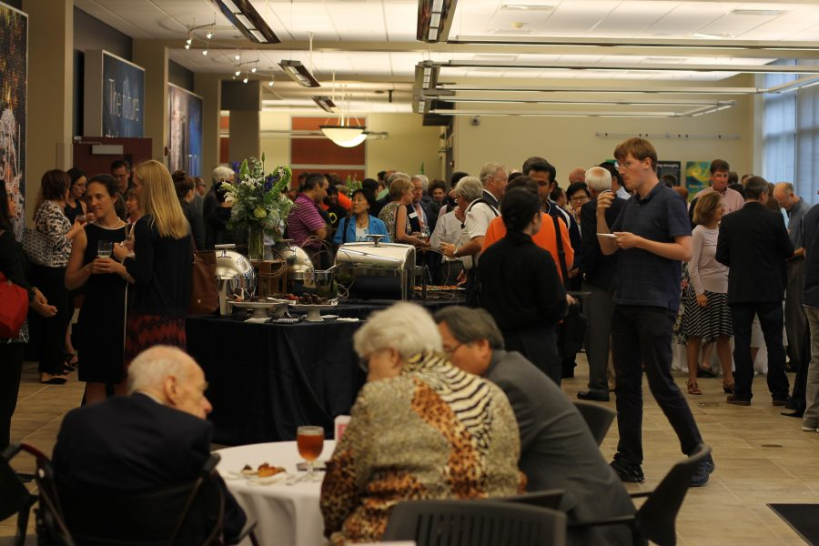 Guest at the NCSA 30th Anniversary Reception on Friday, September 16th, 2016