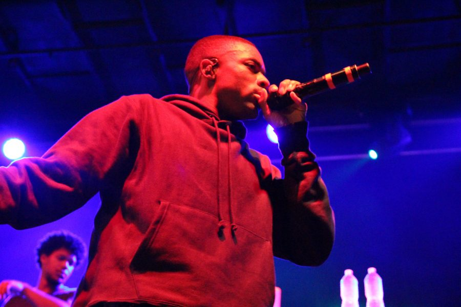 Vince Staples gives a high-energy performance at the Accord during the Pygmalion Festival on Friday, September 23, 2016.
