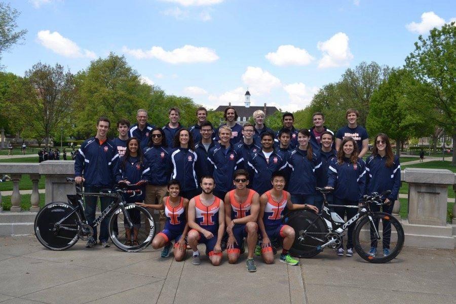 The University of Illinois Triathlon Team will host host to the 10th annual Tri-the-Illini triathlon on Sunday, September 25, 2016.