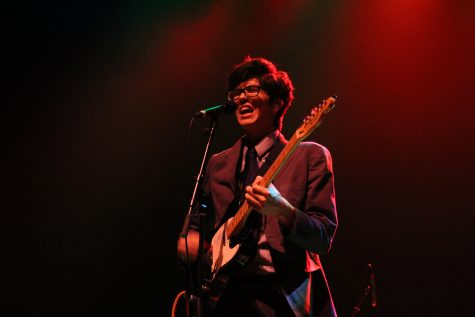 Car Seat Headrest performs for Pygmalion 2016 at Krannert Center for the Performing Arts on Thursday night.