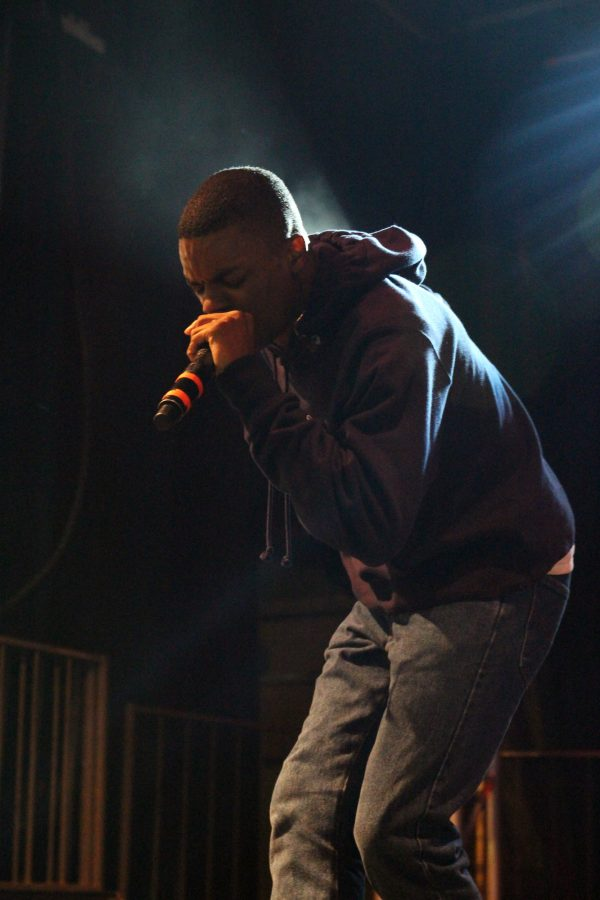 Vince Staples gives a high-energy performance at the Accord during the Pygmalion Festival on Friday, September 23, 2106.