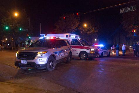 Shots fired near University on Green Street