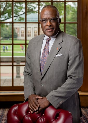 The Daily Illini sat down with Robert Jones on his first day as chancellor