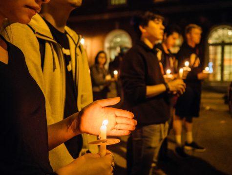 Vigil strives to honor George Korchev, unify community after gun violence