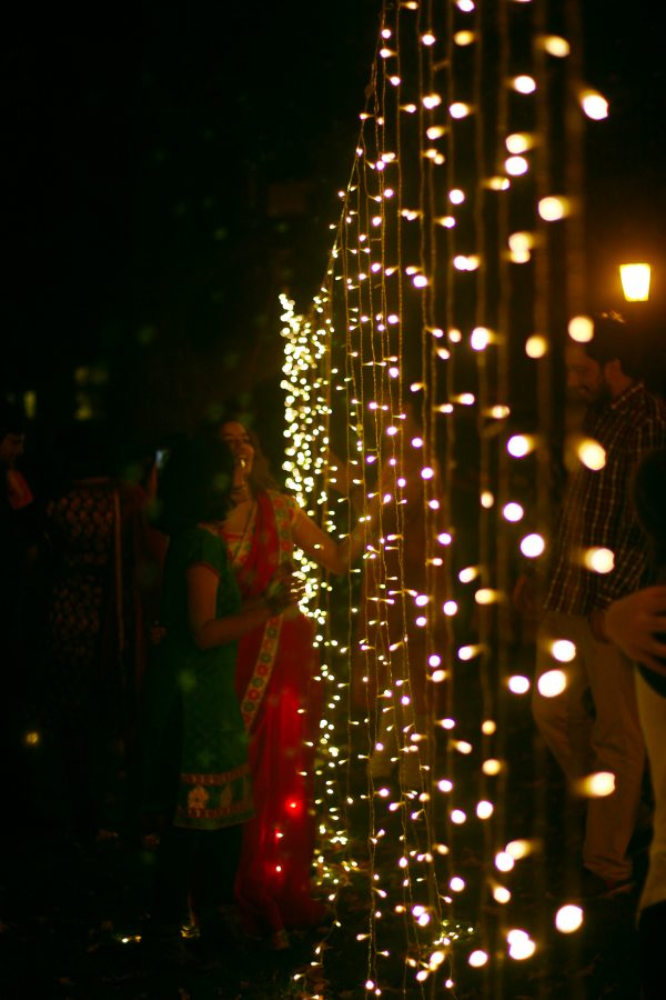 Diwali observer celebrates the Hindu festival of lights.