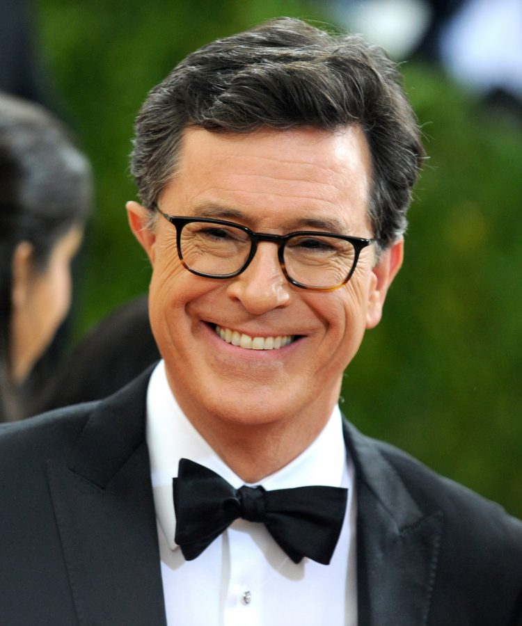 Stephen Colbert attends the Manus x Machina: Fashion In An Age Of Technology; Costume Institute Gala at Metropolitan Museum of Art on May 2, 2016 in New York City.