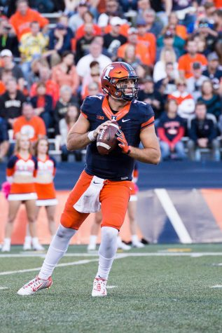 Grading the Illinois football team after its win at Rutgers