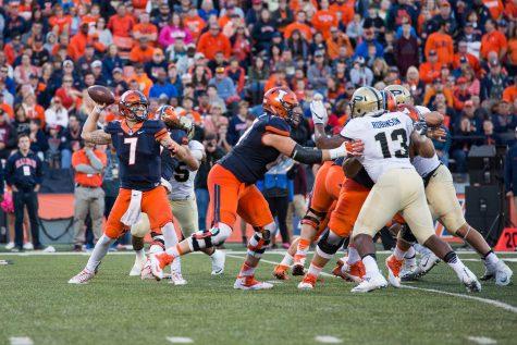 Illinois football follows through on takeaway philosophy against Rutgers