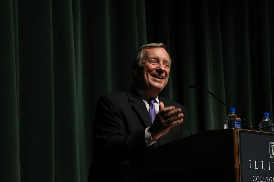 Senator+Dick+Durbin+visits+the+University+of+Illinois+at+Urbana-+Champaign+on+Monday%2C+October+17%2C+2016.