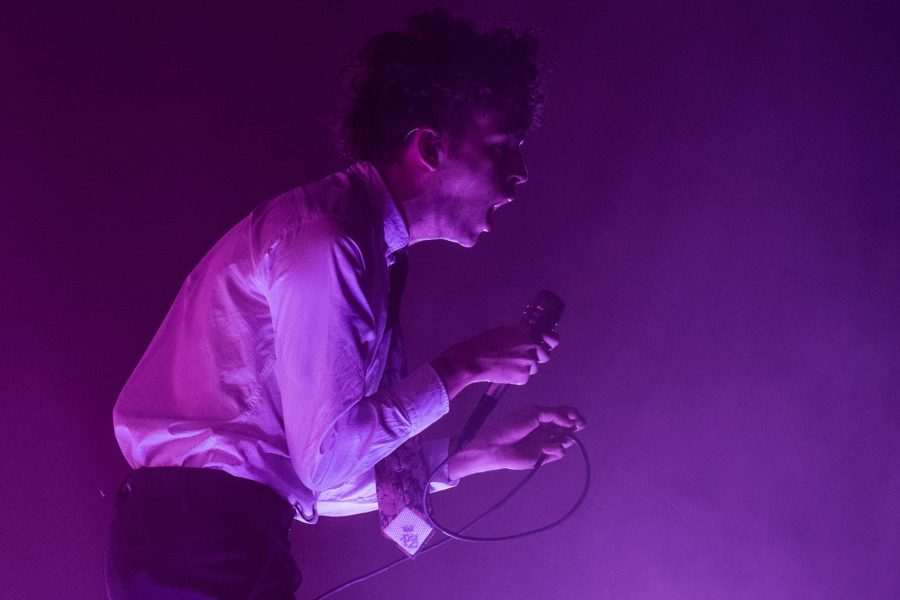 The 1975 energizes State Farm Center Friday night
