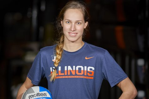 Breanna Wonderly leads on and off the field for Illinois softball