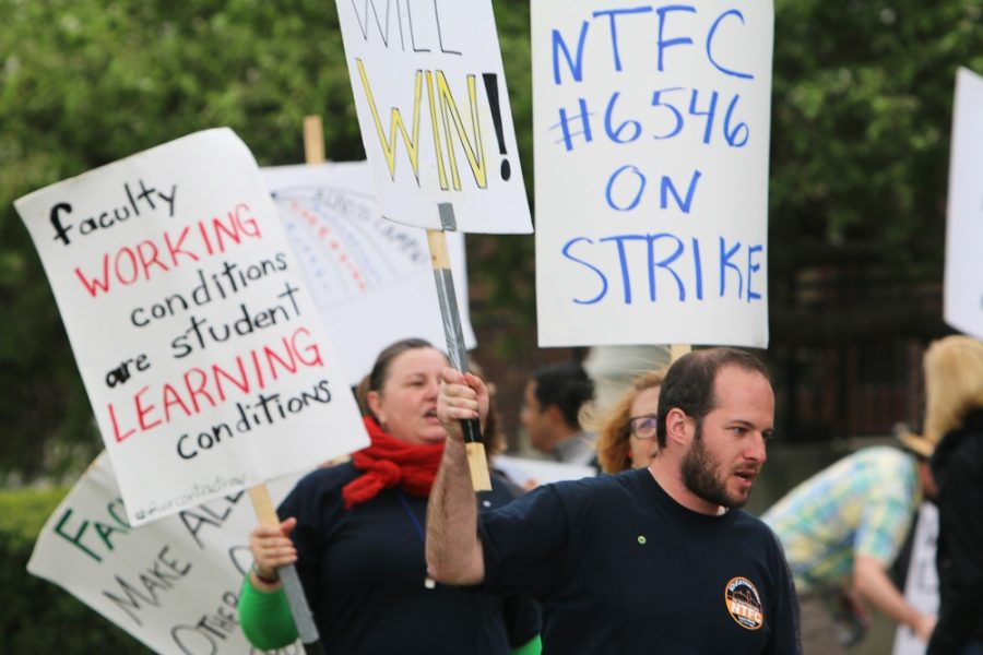 Update: Strike ends, Non-Tenure Faculty Coalition, University administration reach tentative contract agreement