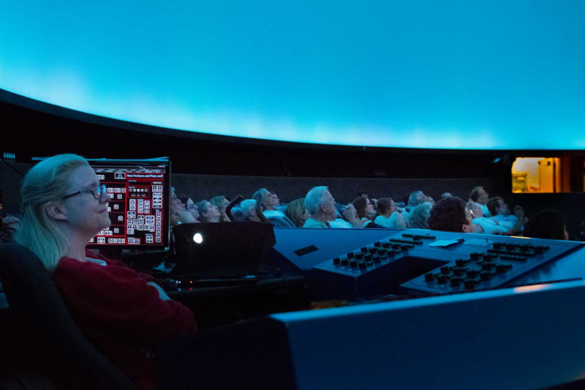 The observatory in Urbana offers resources for students to view the night sky.