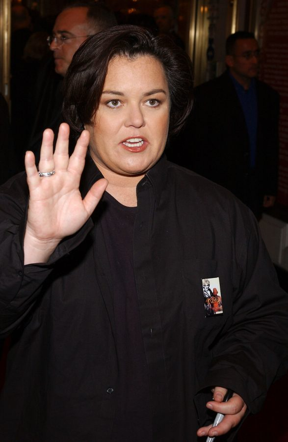Rosie O'Donnell arrives at the Imperial Theatre to attend