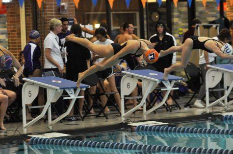 Illinois swim and dive dominates Indiana State