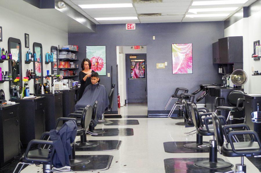 LookAfter Hair Company is located at 401 E Green Street. Many students get their har cut at LookAfter Hair Company and some of their customers may put a hold on shaving their facial hair during No-Shave November.