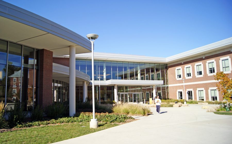 Ike is a popular choice for University Housing residents because it has a dining hall, A La Carte store, and coffee shop.