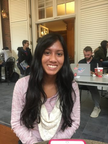 Shalini Rumar, junior in college of LAS