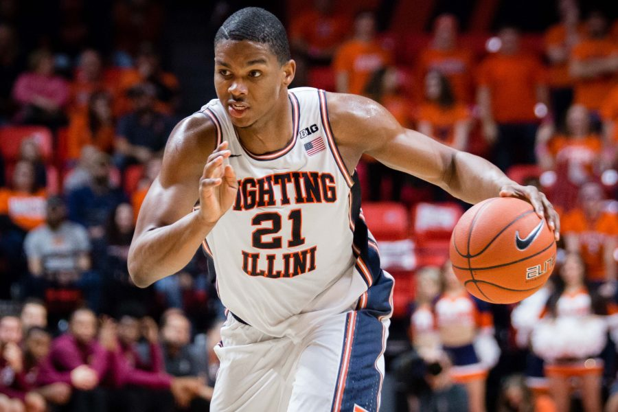Illinois' Malcolm Hill drives to the basket during the game against IUPUI at State Farm Center on Dec. 6. The Illini are currently last in the power rankings.