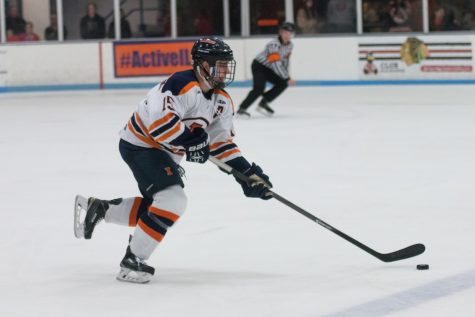 Illinois hockey impressive under national and familial spotlight