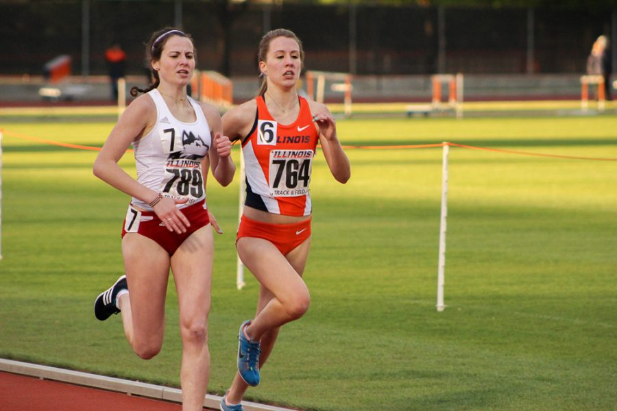 Illinois Women S Track And Field Wins By Double Digits At