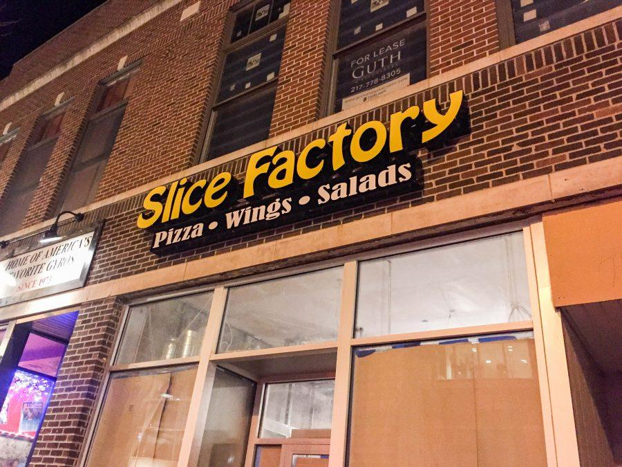 Slice+Factory+will+be+adding+a+campus+location+on+Green+Street+later+this+year.+Although+the+restaurant+was+supposed+to+open+in+March+2017%2C+construction+has+caused++delays.+