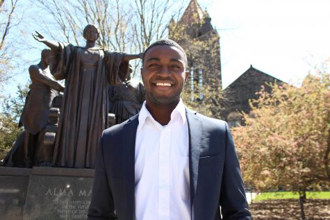 Student Body President Ron Lewis discusses upcoming semester