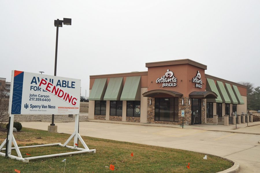Oberweis Dairy and That Burger Joint will open at the location of the previous Atlanta bread Company on South Neil Street. Its set to open in July.